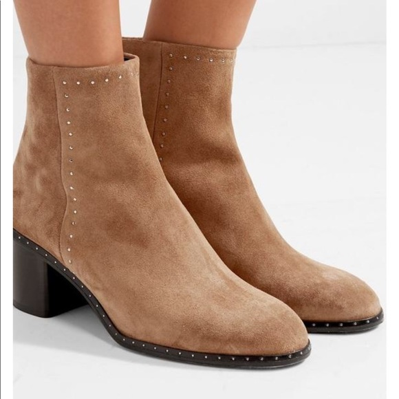 440c514dadf RAG & BONE WILLOW STUD BOOT CAMEL SUEDE 37